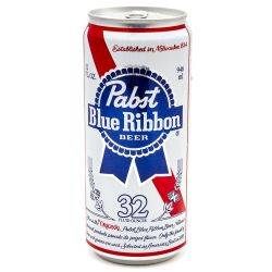 Pabst Blue Ribbon - Beer - 32oz Can