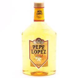 Pepe Lopez - Tequila Premium Gold -...