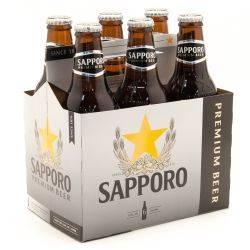 Sapporo - Premium Beer - 12oz Bottle...