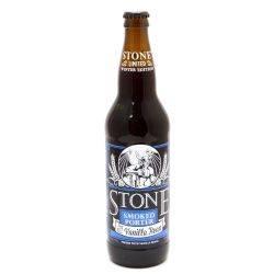 Stone - Smoked Porter w/Vanilla Bean...