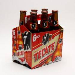 Tecate - Beer - 12oz Bottle - 6 Pack