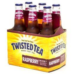 Twisted Tea - Hard Iced Tea Raspberry...