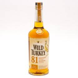 Wild Turkey - 81 Kentucky Bourbon...