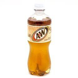 A&W - Cream Soda - 20 fl oz