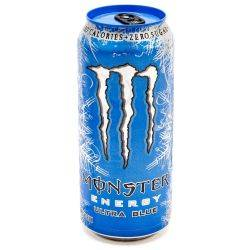 Monster - Energy Drink - Ultra Blue -...