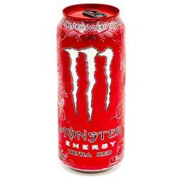 Monster - Energy Drink - Ultra Red -...