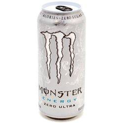 Monster - Energy Drink - Zero Ultra -...
