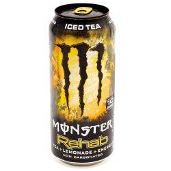 Monster - Rehab - Energy Drink - Tea+...