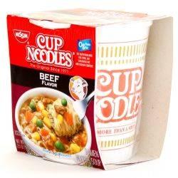 Nissin Cup Noodles - Beef Flavor...