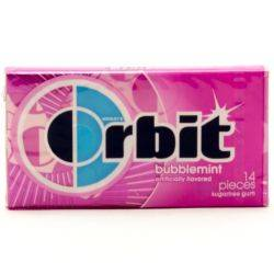 Orbit - Bubblemint Sugarfree Gum - 14...