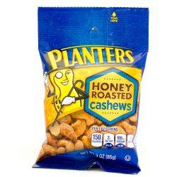 Planters - Honey Roasted Cashew - 3oz