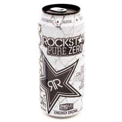 Rock Star - Energy Drink - Pure Zero...