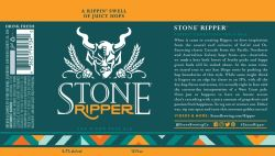 Stone -Ripper - 12oz cans - 6 Pack