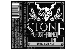Stone -Ghost Hammer IPA - 12oz cans -...