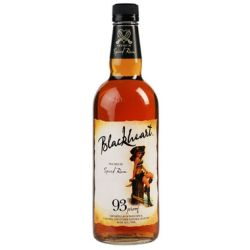 Blackheart- Spiced Rum-93proof - 750ml