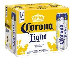 Corona Light - 12 pack cans