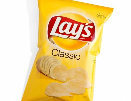 Lays Classic Chips - 3oz bag