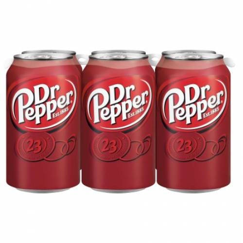 Dr Pepper Soda - 12 Oz - 6 pack