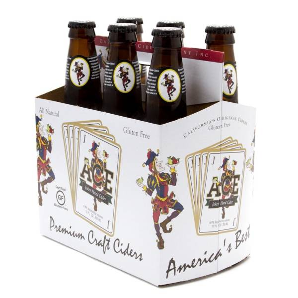 Ace - Joker Hard Cider - 12oz Bottles - 6 pack