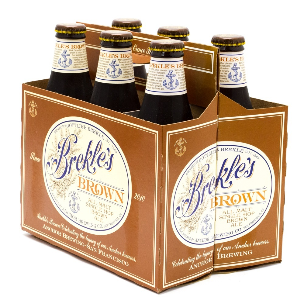 Anchor - Brekle's Brown Ale - 12oz Bottles - 6 pack