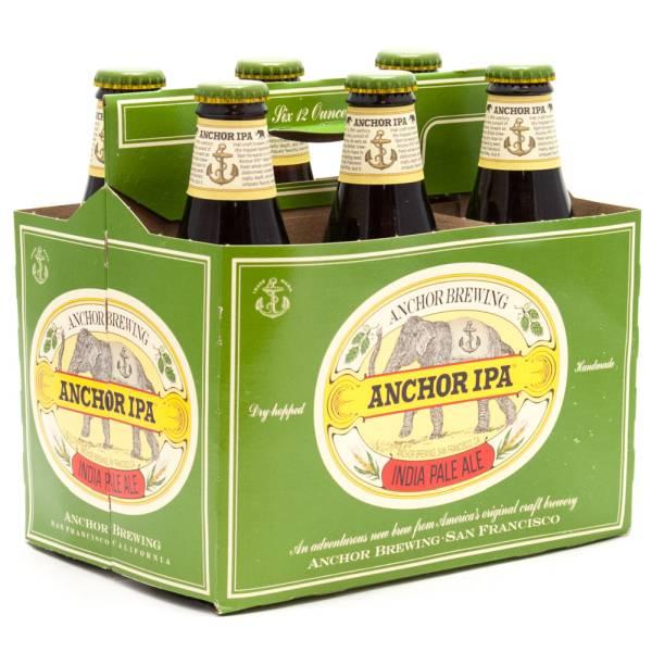 Anchor - IPA - 12oz Bottle - 6 Pack