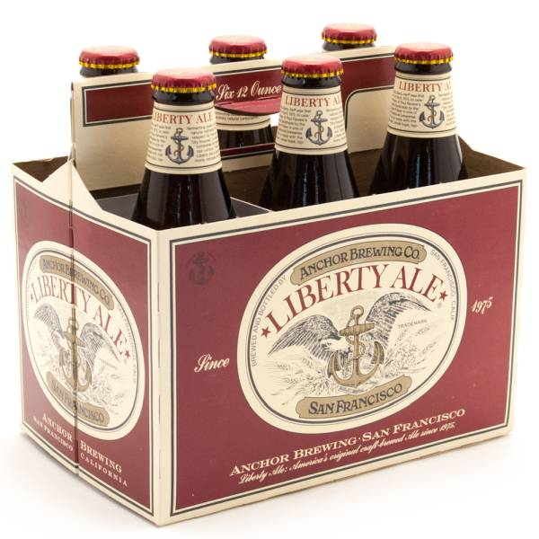 Anchor - Liberty Ale- 12oz Bottle - 6 Pack