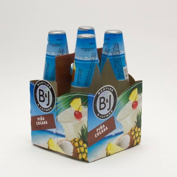 Bartles & Jaymes - Pina Colada - 11.2oz Bottle - 4 Pack