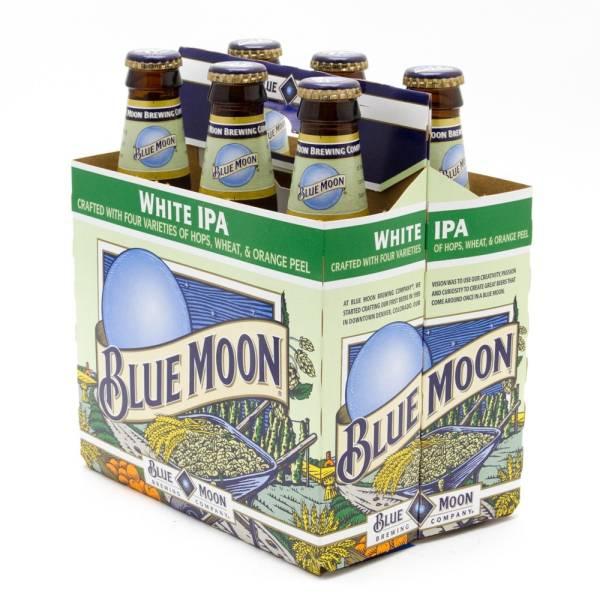 Blue Moon - White IPA - 12oz Bottle - 6 Pack