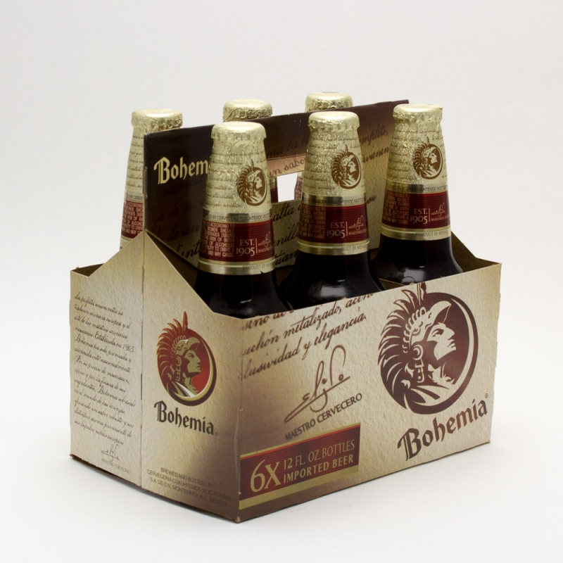 Bohemia - Imported Beer - 12oz Bottle - 6 Pack