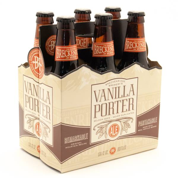 Breckenridge Brewery - Vanilla Porter Ale - 12oz Bottle - 6 Pack