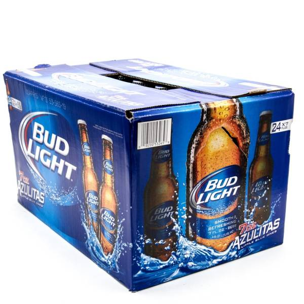 Nice Bud Light   7oz Bottle   24 Pack