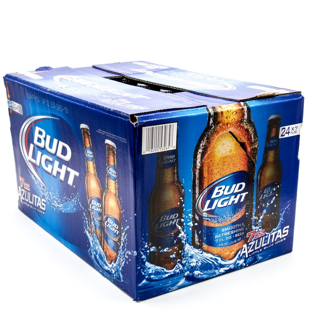 Bud Light   7oz Bottle   24 Pack