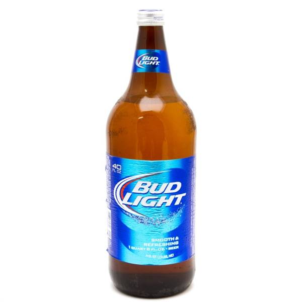 Bud Light - Beer - 40oz Bottle