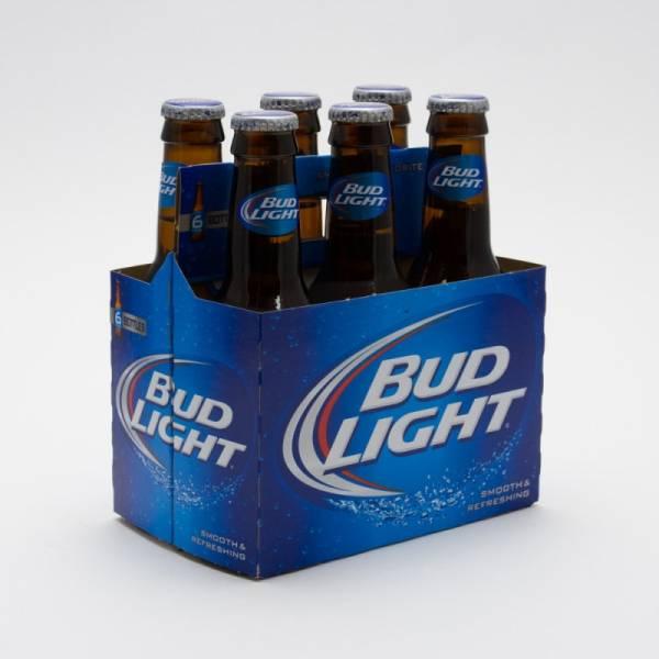 Bud Light - Beer - 7oz Bottle - 6 Pack