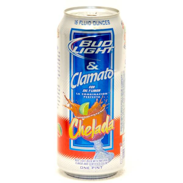 Bud Light & Clamato - Chelada - 16oz Can