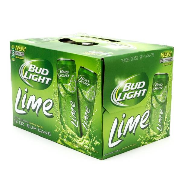 30 Pack Of Bud Light Bud Light Lime - 12oz Slim Can - 12 Pack Slim | Beer, Wine ...