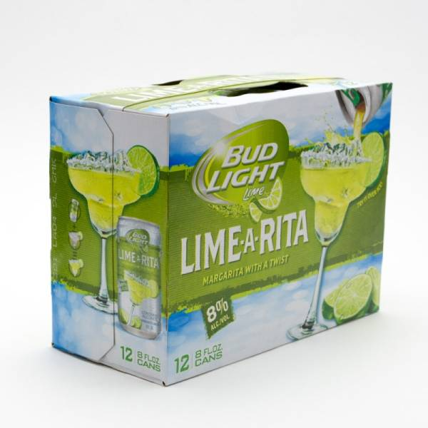 Bud Light Lime - Lime-A-Rita Margarita - 8oz  Can - 12 Pack