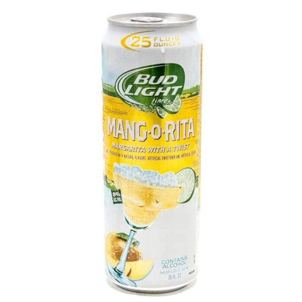 Bud Light Lime - Mang-O-Rita Margarita - 25oz Can
