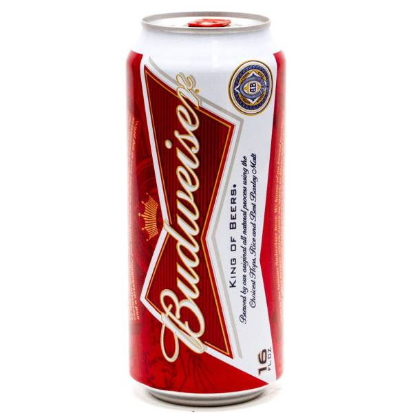 Budweiser - Beer - 16oz Can | Beer, Wine and Liquor ...