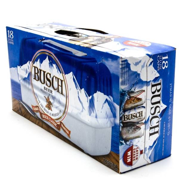 Busch - Beer - 12oz Can - 18 Pack