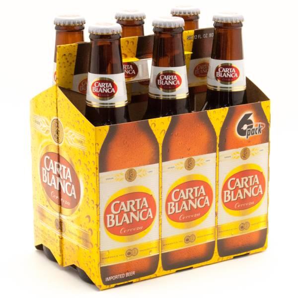 Carta Blanca - Cerveza Imported Beer - 12oz Bottle - 6 Pack