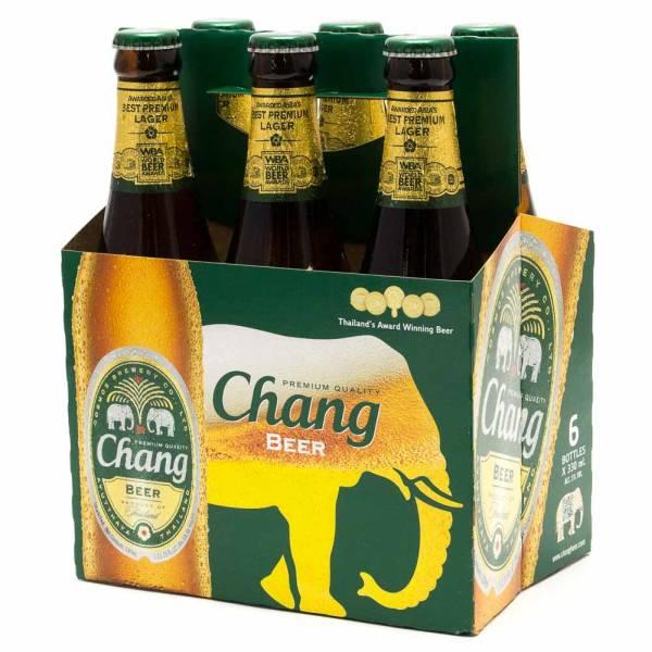 Chang - Beer - 11.2oz Bottle - 6 Pack
