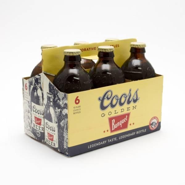 Coors - Golden Banquet - 12oz Bottle 6 Pack