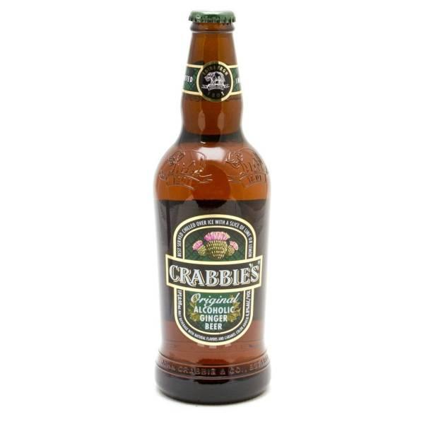 Crabbie's - Original Ginger Beer 16.9oz Bottle