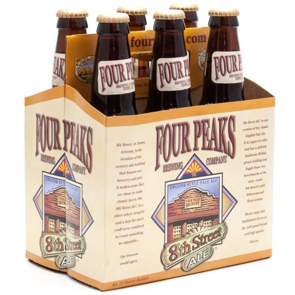 Four Peaks - 8th Street Pale Ale - 12oz Bottle - 6 Pack