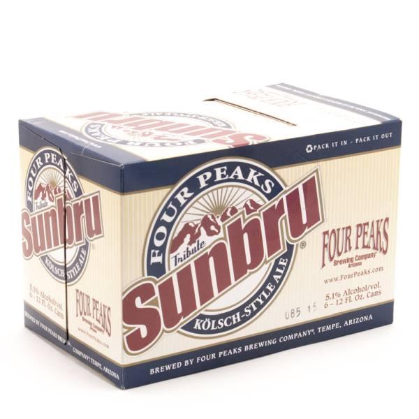 Four Peaks - Sunbru Kolsch Style Ale - 12oz Can - 6 Pack
