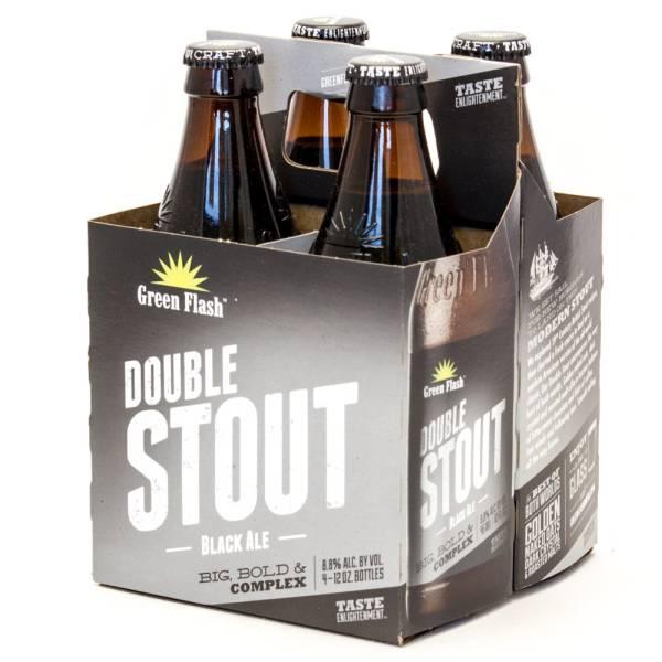 Green Flash - Double Stout Black Ale - 12oz Bottle - 4 Pack