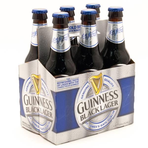 Guinness - Black Lager - 11.2oz Bottle - 6 Pack