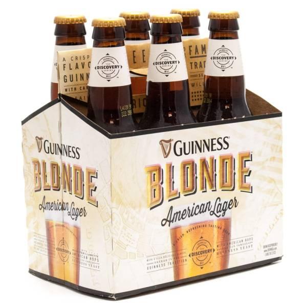 Guinness - Blonde - American Lager - 11.2oz Bottle - 6 Pack