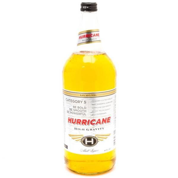 Hurricane - High Gravity Malt Liquor - 40oz Bottle